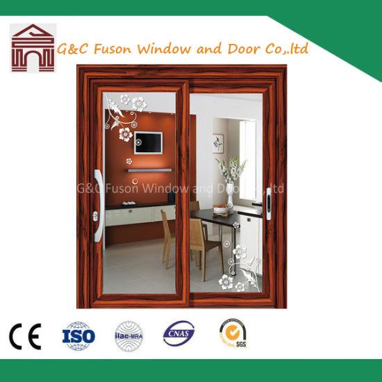 China Energy Saving Double Glazing Aluminum Sliding Exterior Panel