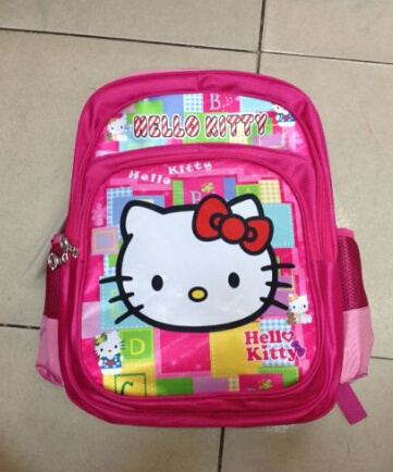 "16"" Soft Backpack Type Polyester Child Kids School Bag pictures & photos"