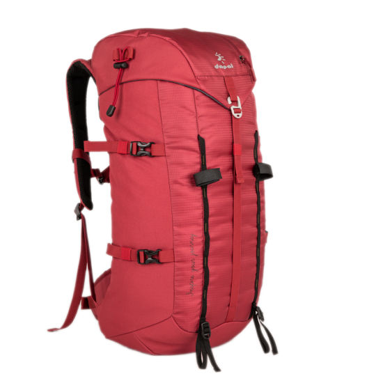 30L Ultra Light Weight Red Color Outdoor Hiking Rucksack Water Resistant Hiking Backpack Bag Mochila for Camping