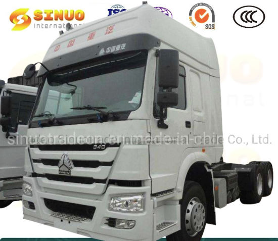 Used Sinotruk HOWO Truck 371HP/ 375 10 Wheels Tractor 6X4 Trucks Heavy Duty Truck Trailer Head Chinatractor Head Truck Excellent Condition