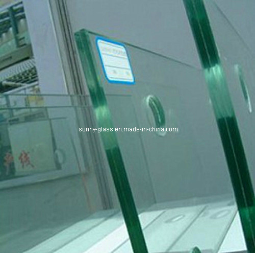 Clear Toughened Laminated Glass with Holes pictures & photos