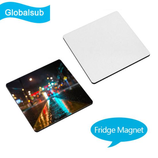 China Sublimation Blank Square Fridge Magnet Wholesales (5cm