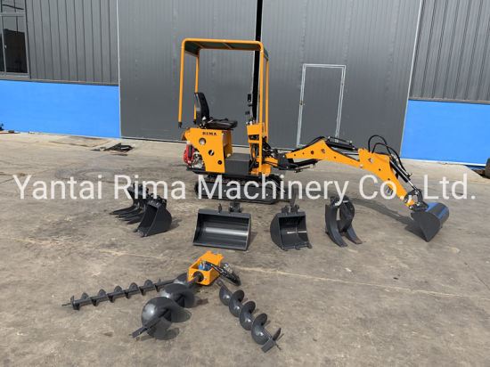 0.8ton Small/ Mini Backhoe / Crawler/ Whee / Hydraulic / Towable/ New / Used Construction Equipment Digger Excavators