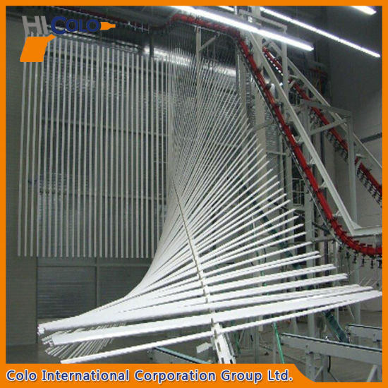 Automatic Vertical Aluminum Profile Powder Coating Line pictures & photos