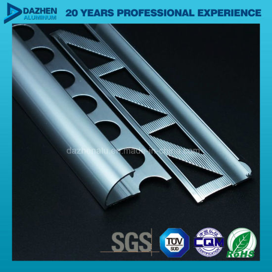 Aluminium Extrusion Profile for Kitchen Cabinet Handle Bp Brush Glossy Matt Silver pictures & photos