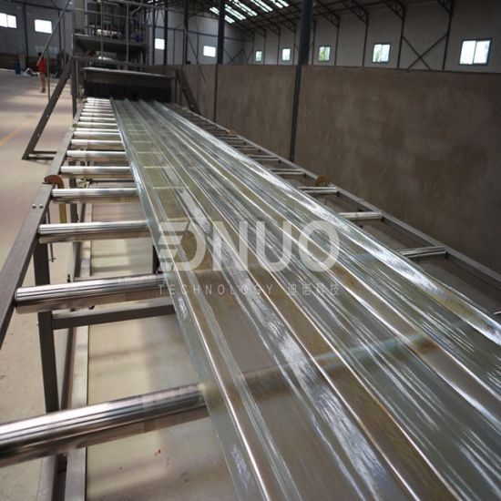 Standard FRP Roofing Sheet Making Machine with Automatic Control