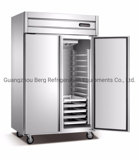 2 Big Door Luxury Kitchen Freezer for Meat/Commercial Fridge