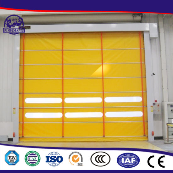 Latest Modern Wholesale Cheap Price PVC Door Fast Open and Close Automatical pictures & photos