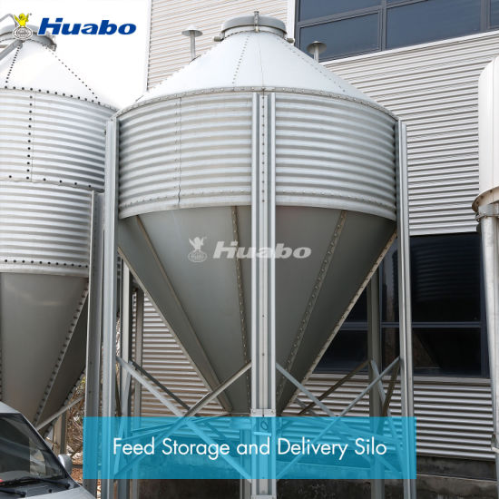 China Poultry Livestock Feed Storage and Delivery Silo