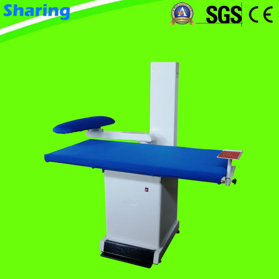Steam Vacuum Ironing Table for Laundry Shop