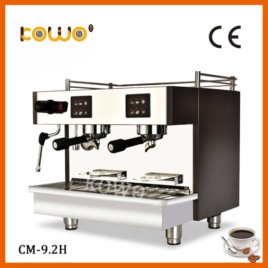 Commercial Semi Automatic Electric Italian Espresso Coffee Maker Stainless Steel