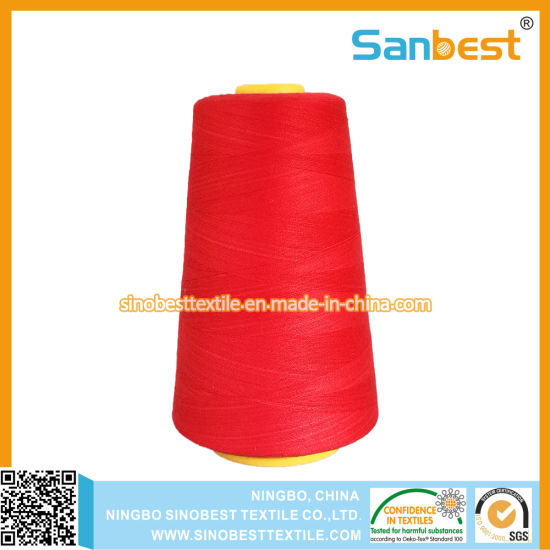 High Quality Spun Polyester Sewing Thread 40s/2 pictures & photos