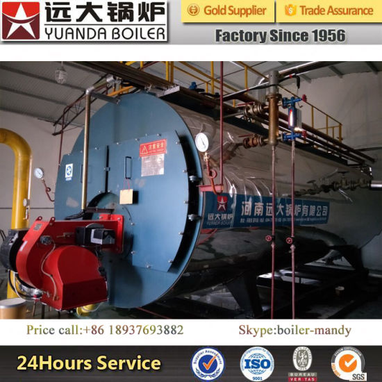 10ton 1.25MPa or 1.6MPa Industrial Automatically China Famous Brand Natural Gas and Diesel Oil Fired Steam Boiler pictures & photos