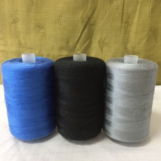 Poly Poly Core Spun Yarn and Sewing Thread for Clothing pictures & photos