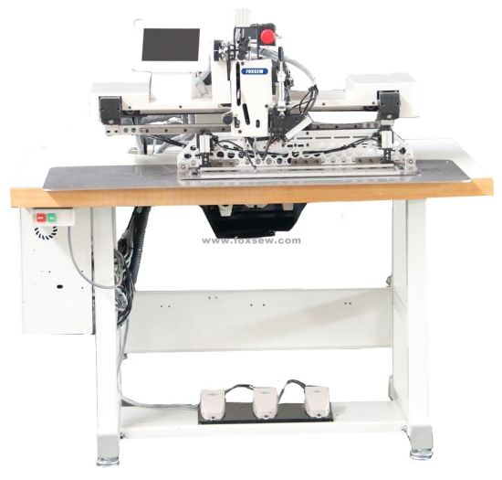 Programmable Pattern Sewing Machine for Heavy Duty Webbings and Straps