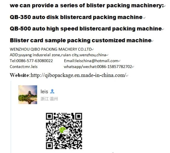 Papercard Packing Machine for Toothbrush and Barttery Sealing pictures & photos