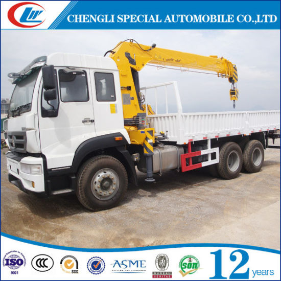Good Quality 10 Wheel Crane Truck for Sale pictures & photos