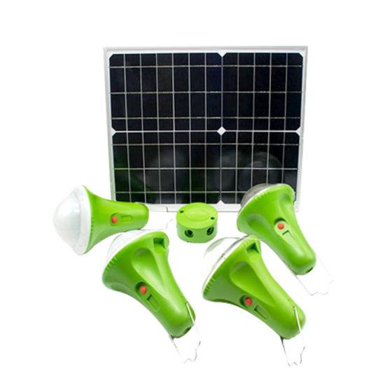 2019 Hot Sale Solar System 30W 11V 5200mAh Solar Rechargeable Light
