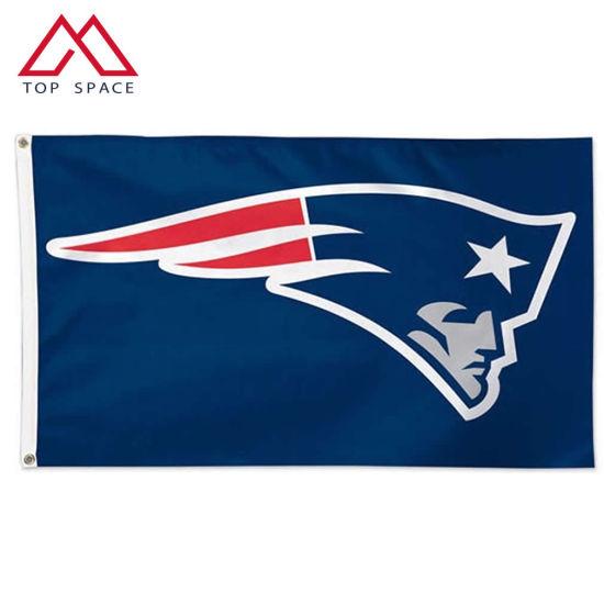 NFL Custom Sports Banner New England Patriots Flag