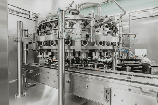 Beer / Juice / CSD Beverage Cans Filling Machine