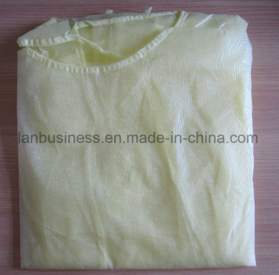 PE Coated Isoaltion Gowns Disposable