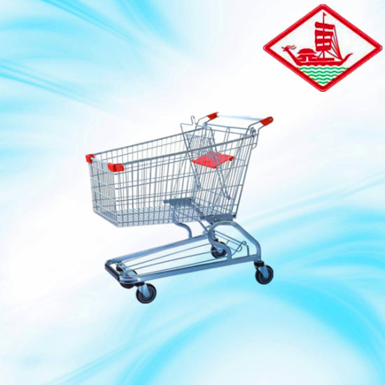 180L Shopping Trolley with Good Price pictures & photos