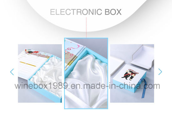 MDF Paper Simple Rectangle Electronic Packaging Display Box pictures & photos