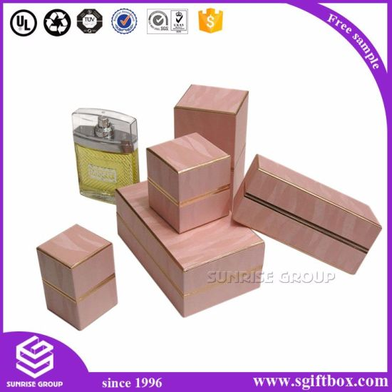 Simple Square Paper Packaging Competitive Price Perfume Box pictures & photos