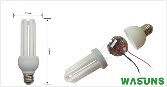 High Quality 3u 15W CFL Energy Efficient Bulbs pictures & photos