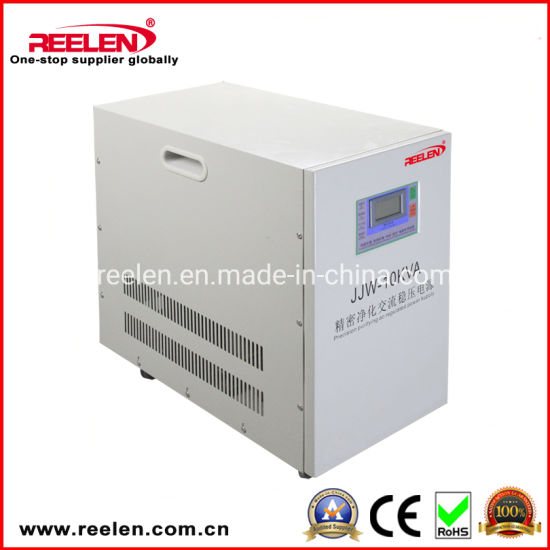 10kVA Single Phase Precision Purifying AC Regulated Power Supply JJW-10kVA pictures & photos