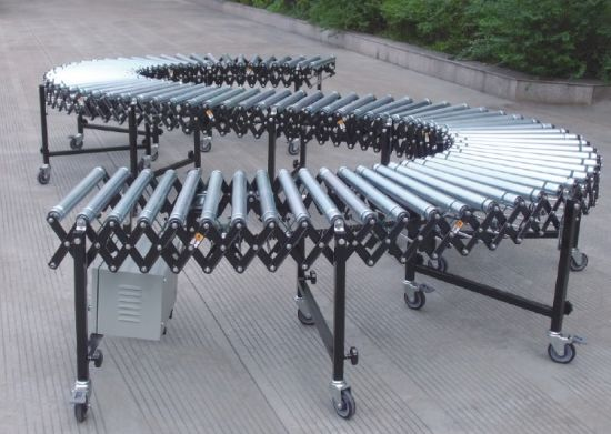 Flexible Gravity Skate Wheel Roller Conveyor (ZLY) pictures & photos