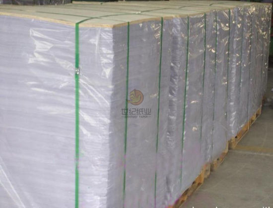 Fsc Certified 115GSM 120GSM 128GSM C2s Art Gloss Paper/Couche Paper 61X86 Cm in Sheets