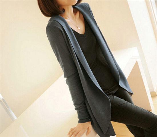 5932796b55 Hot Sale Fashion High Quality Ladies Knitwear Long Casual Slim Fitting  Knitting Women′s Cardigan
