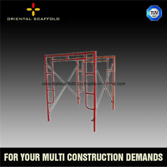 Powder Coated H Type Walk Through Frame Scaffold