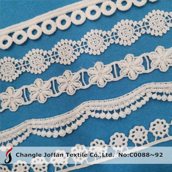 Home Textile Crochet Guipure Trimming Lace Chemical Polyester Lace (C0088)