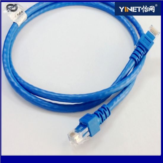 Top-Quality Cat5e 24AWG Patch Cord Bare Strain Copper Yinet Brand High Quality pictures & photos