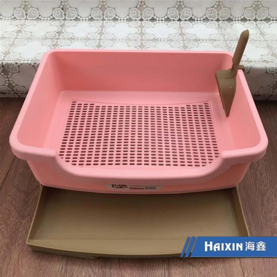 China Sifting Cat Litter Box Best Cat Litter Tray China Cat Litter Box And Cat Litter Container Price