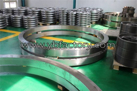 Custom Made Machined Large Diameter Stainless Steel Flanges