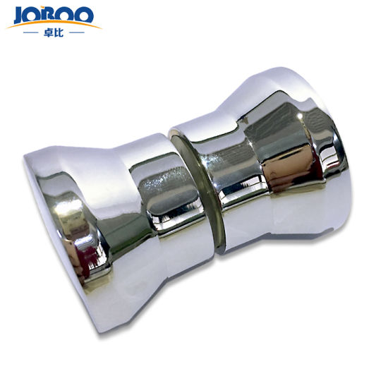 Customized Zinc Alloy Glass Bathroom Sliding Door Handle Hardware