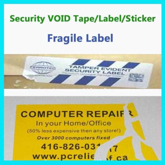 Custom Fragile Seal Sticker; Egg Shell Label