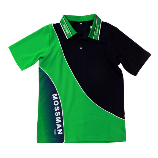 Healong China Manufacturer Clothing Gear Sublimation Polyester Polo Shirts pictures & photos
