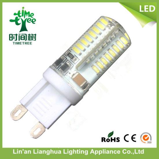LED G9 64SMD with 3W 85-265V LED Corn Light pictures & photos