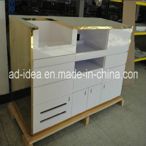 Cash Wrap Counter/Storage Counter/Exhibition Display pictures & photos