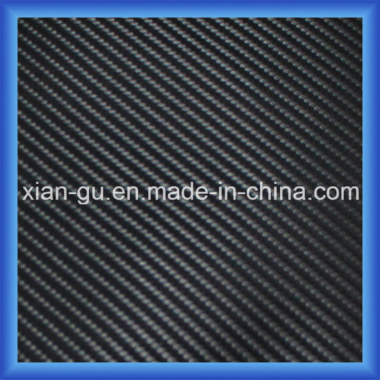 Imitation Carbon Fiber Twill Weaving PU Leather