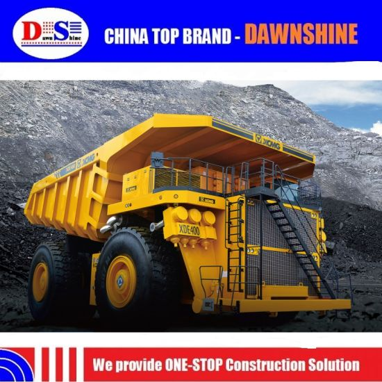 Xugong Electric Drive Tipper Xde170 170ton Mining Dump Truck pictures & photos