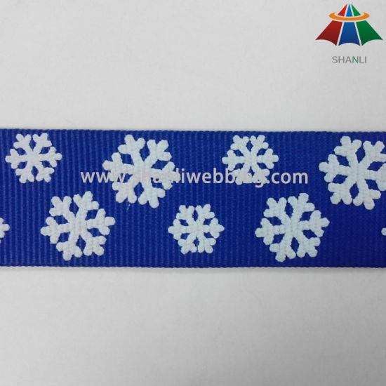 Screen Printing Polyester Webbing for Lanyards