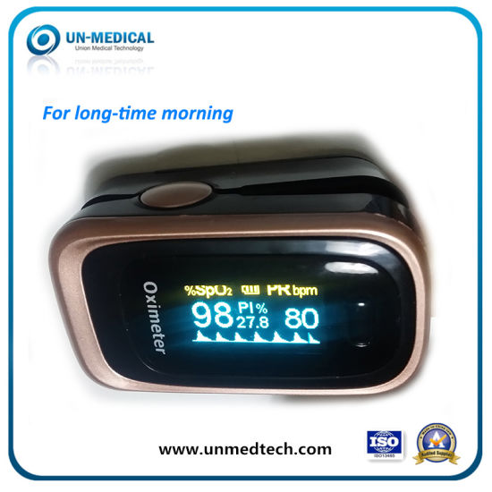 Long-Time Morning Fingertip Pulse Oximeter pictures & photos