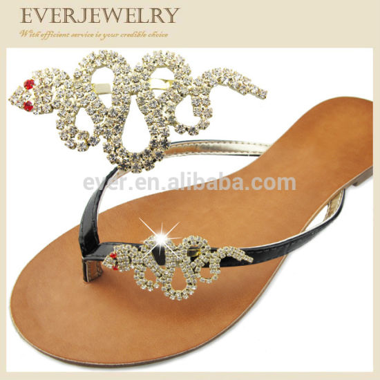 7268a612d Wholesale New Fashion Rhinestone Accessories Flip Flops Clips pictures    photos