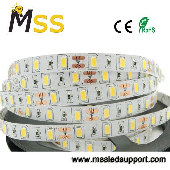High Lumen SMD5730 LED Strip with DC12 60 LEDs/M