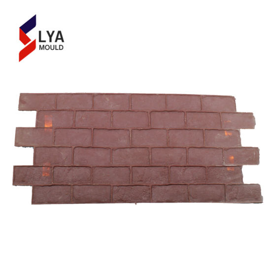 China 2018 New Style Decorative Concrete Rubber Stamp Mould